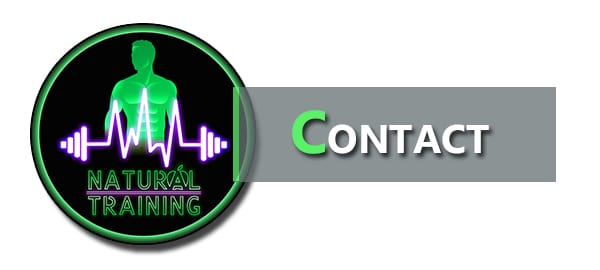Contactez Natural Training pour toutes questions particulières ou demande de partenariat