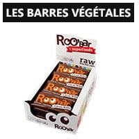 Les barres végétales vegan