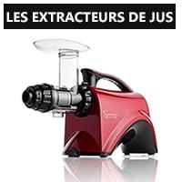 Les extracteurs de jus