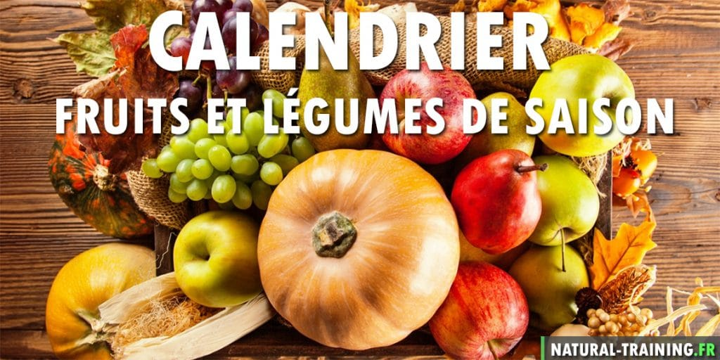 Calendrier fruits et l gumes de saison natural training - Fruit et legumes de saisons ...