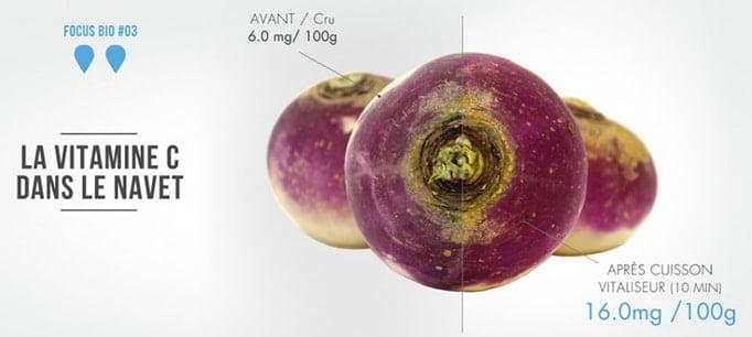 vitaliseur de marion : légumes