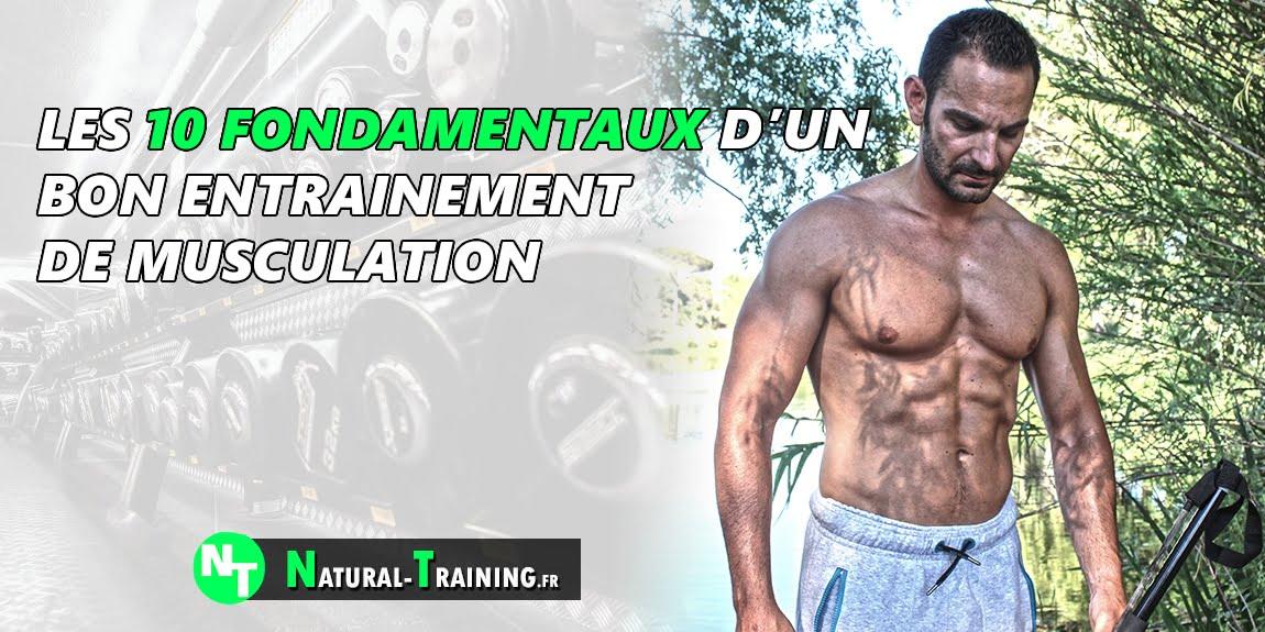 entrainement de musculation : 10 fondamentaux