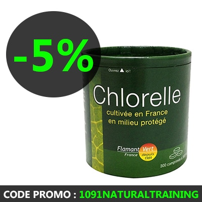 Superaliments code promo : chlorelle