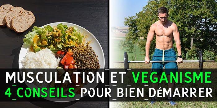 Musculation et veganisme