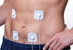 Electrostimulation sur les abdos