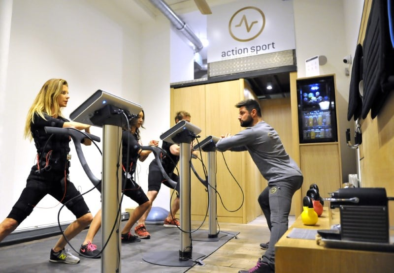 Franchise Action Sport avec Miha Bodytec