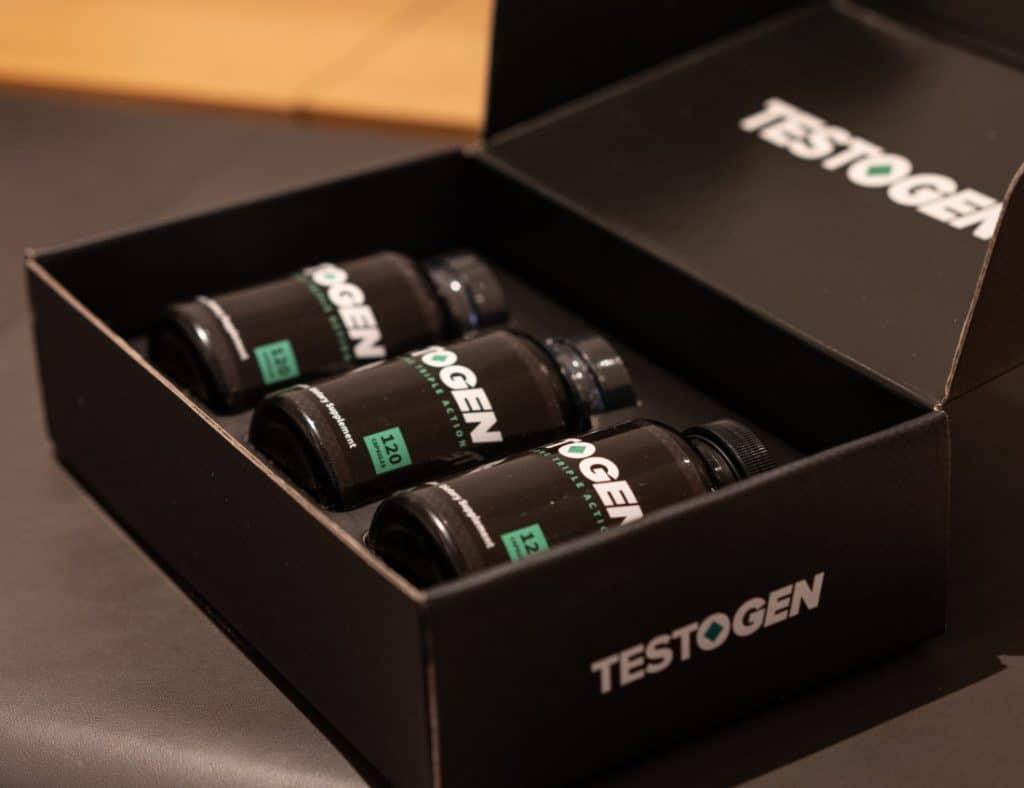 3 boites de comprimés Testogen